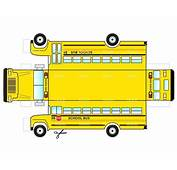 Printable School Bus Template Templates 7