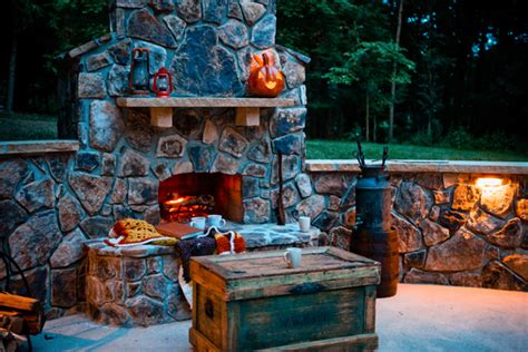how to build a backyard fireplace how to build an outdoor fireplace brick stone small