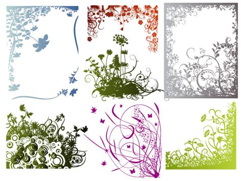 Massive Collection of Vintage Vector Graphics: Floral Borders, Corners, and Frames
