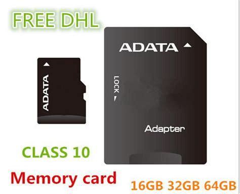 Micro Sd Adata 16gb Class 10 wholesale adata micro sd card class 10 tf memory card 64
