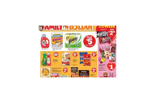 does family dollar store double coupons