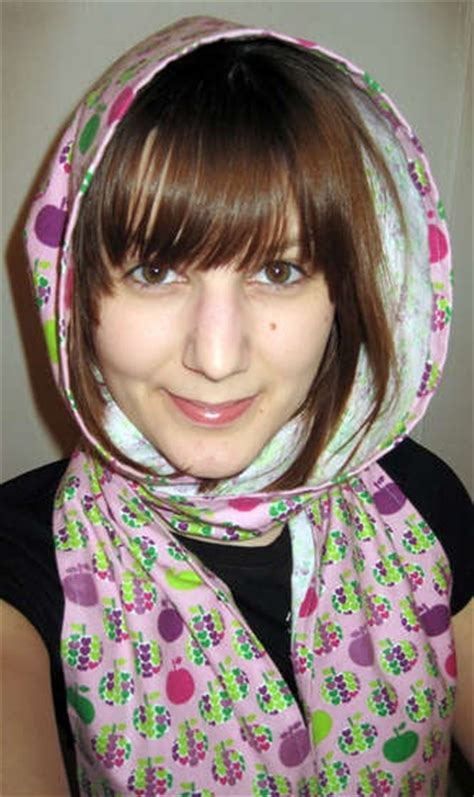 Hooded Hijab Pattern | 17 best images about scarves on pinterest no sew fleece