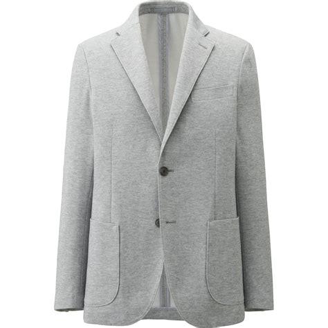 Uniqlo Mens Sweatpants Grey Original uniqlo comfort jacket in gray for lyst
