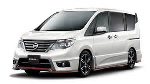 Nissan Serena C26 Nismo Nissan Serena Performance Package C26 01 2016