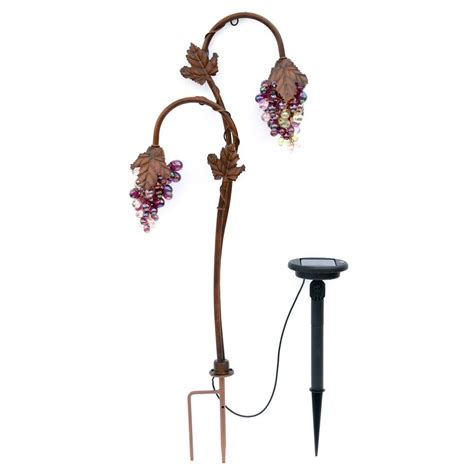 Trendscape Solar Lights Trendscape Grape Lighting Bronze Solar Led Path
