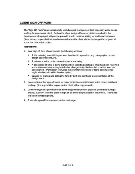 sign form template client sign form template sletemplatess
