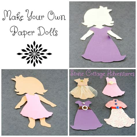 Make Your Own Paper Dolls - cottage adventures make your own paper dolls for de