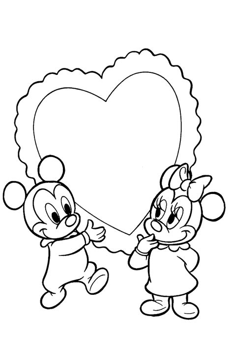 coloring page baby disney coloring pages 1