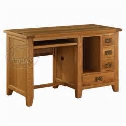 Computer Desk In Vancouver Vancouver Oak Computer Desk Oak Furniture Solutions