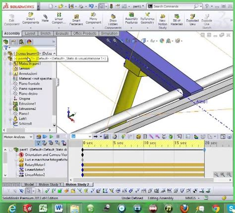 tutorial solidworks motion solidworks motion study motor tutorial impremedia net