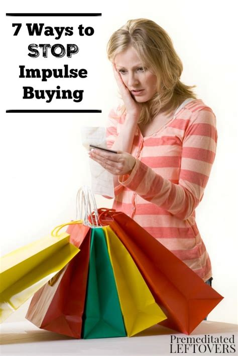 Tips To Stop Impulse Buying by 7 Ways To Stop Impulse Buying