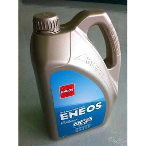 Oli Eneos 5w 30 Eneos Ecotouring Synthetic Blended 5w 30 4l