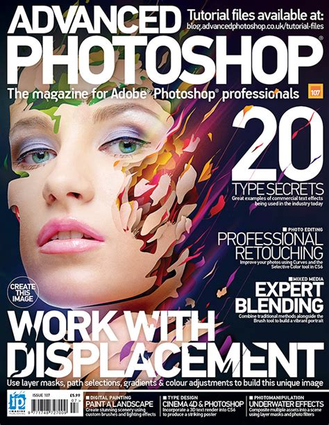 design cover magazine photoshop advanced photoshop magazine issue 107 out now advanced