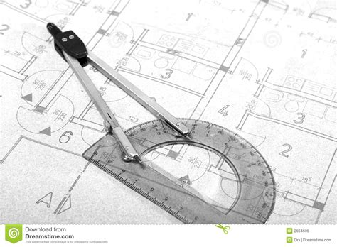 blue print drawing architecture blueprint drawing royalty free stock image