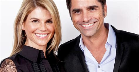 john stamos with wives full house s uncle jesse and aunt becky are together again