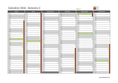 Calendrier 2 Eme Trimestre 2016 Imprimer Calendrier 2016 Gratuitement Pdf Xls Et Jpg