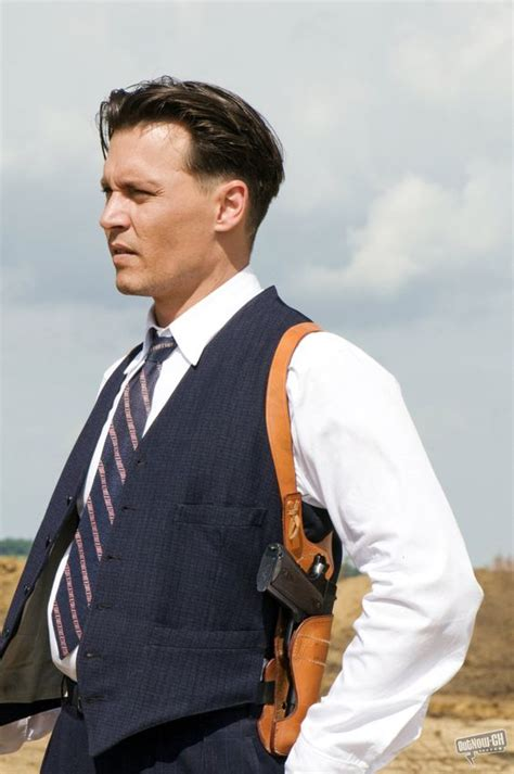 johny b hairstykes 1930s hairstyle johnny depp in public enemies they