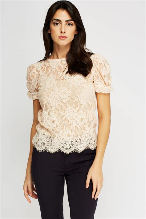 Flowers Casual Top 27161 floral lace casual top just 163 5