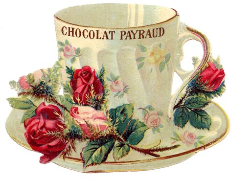 vintage images free vintage images teacup with roses the