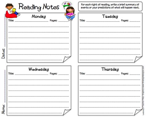 nonfiction reading log printable reading logs for high school students jill kuzma s slp