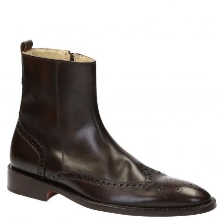 Handmade Dress Boots - handmade s dress ankle boots in brown leather