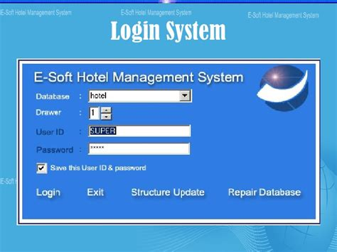 form design for hotel management system hotel management system