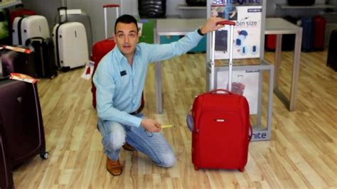 samsonite sahora travel equipaje de cabina youtube