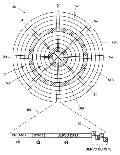 test pattern disk patent us6545830 disk drive storing test pattern in