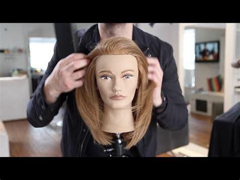 layered haircut for long hair youtube long layered haircut tutorial for fine hair matt beck