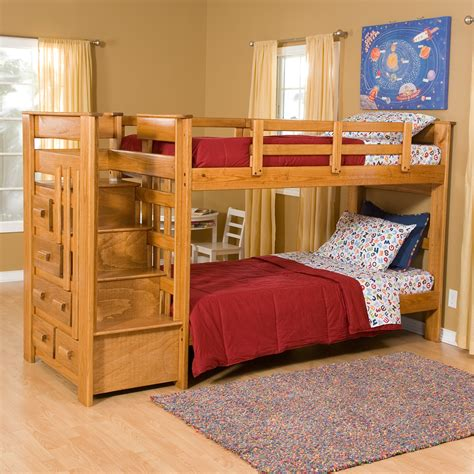 Stairs For Bunk Bed by Heartland Bunk Bed With Stairs