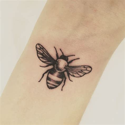 small bee tattoo my bee for the bees
