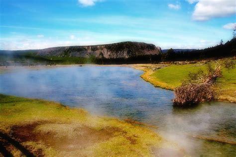 yellowstone landscape photograph by heaverlo