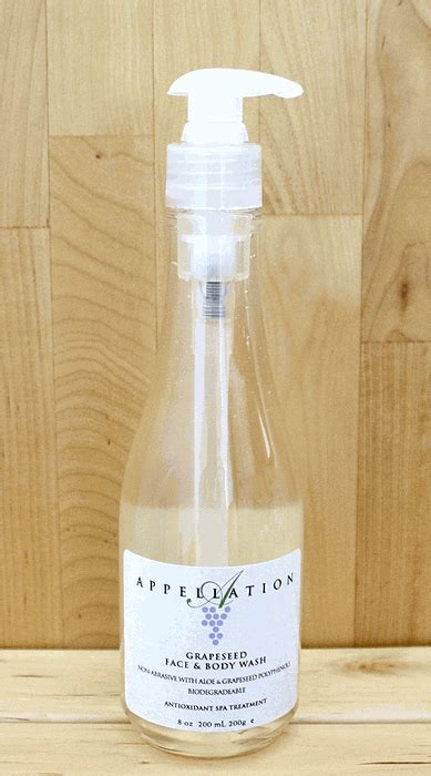 Appellation Spa Grape Seed Soak by Appellation Grapeseed Wash Made In Usa By
