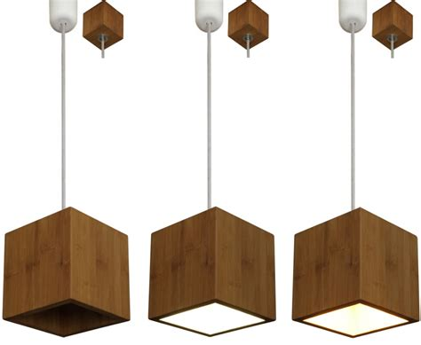 Esstischleuchte Holz by Holz Bambus Design Deckenle Pendelle H 228 Ngele