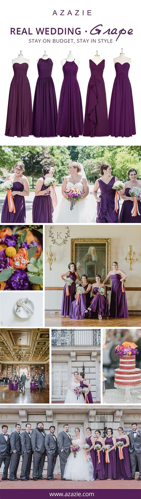 wedding styles picking your wedding color all about 17 best ideas about grape wedding gowns on pinterest