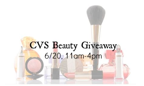 Cvs Giveaway - cvs beauty products giveaway 6 20 southern savers