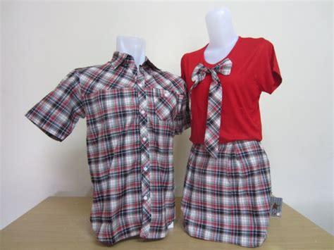 Dress Kid Arcia Merah kemeja dress pita merah pusatkaoscoupleku