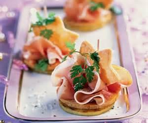 canap 233 s au jambon de bayonne foie gras et pommes recipe