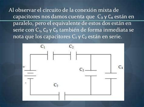 capacitancia y capacitor es lo mismo capacitores en serie y en pararelo1
