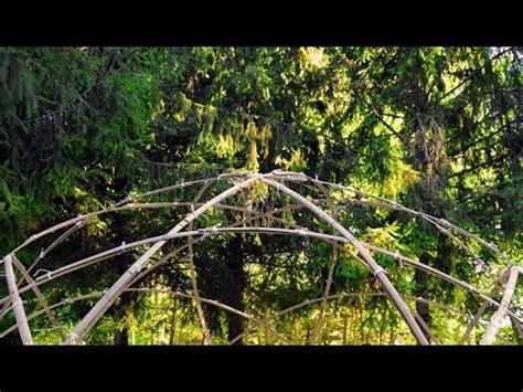 costruire cupola geodetica cupola geodetica in bamboo la costruzione numana doovi