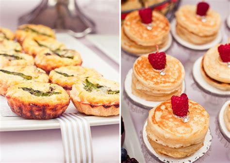 bridal shower brunch finger foods 2 saturday sunday shindig wedding wednesday chevron pink gray shower design indulgences
