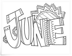 June Coloring Pages june coloring pages to and print for free