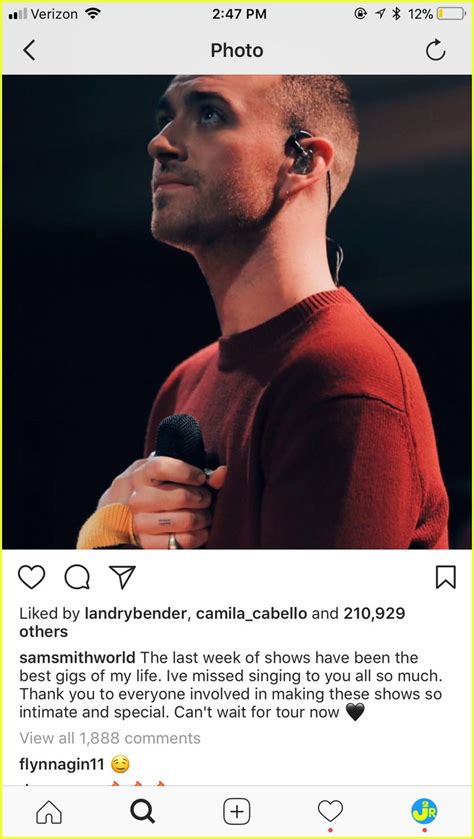 Comments On Smiths by Sam Smith Brandon Flynn S Instagram Comments To Each