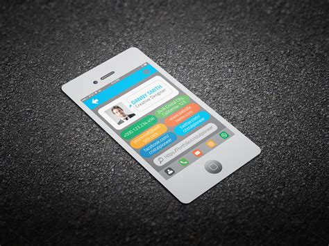 cards formidable iphone business card template free templates psd