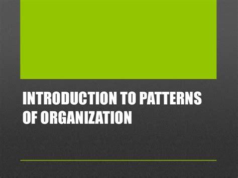 pattern of organization transition words eng 52 transitions and patterns of organization
