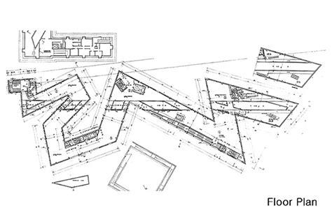 jewish museum berlin floor plan daniel libeskind 다니엘 리베스킨트 네이버 블로그