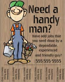 free handyman flyer template beautiful handyman flyer template 23 documents
