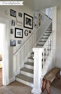 our vintage home love stairway renovation