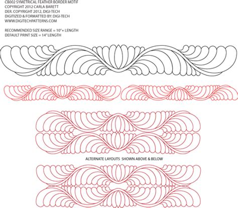Quilting Designs For Embroidery Machine by Additional Quilting Designs Carla Barrett