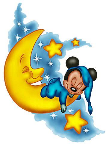 Home Set Mickey Moon baby mickey sleep on moon mickey mouse